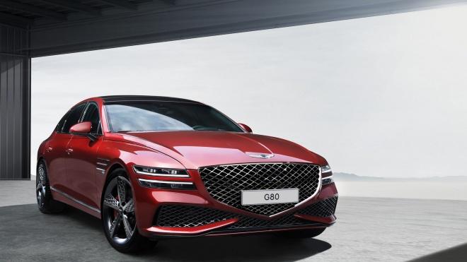 Genesis G80 Sport 2022 lộ diện: Thêm lựa chọn cho người dùng yêu phong cách thể thao