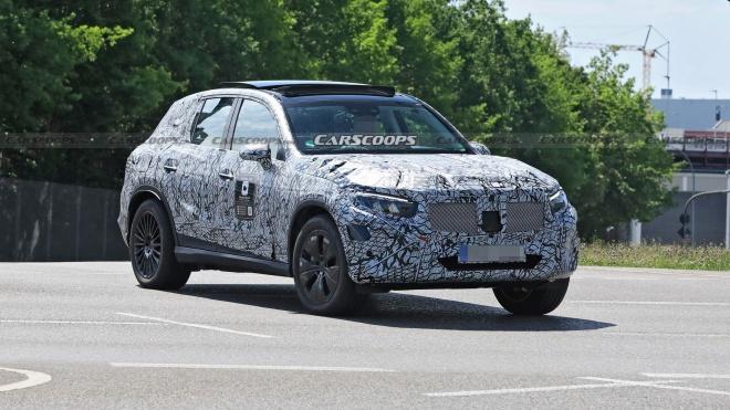 Mercedes-Benz GLC 2022 lộ diện trên đường thử, ngày ra mắt không còn xa