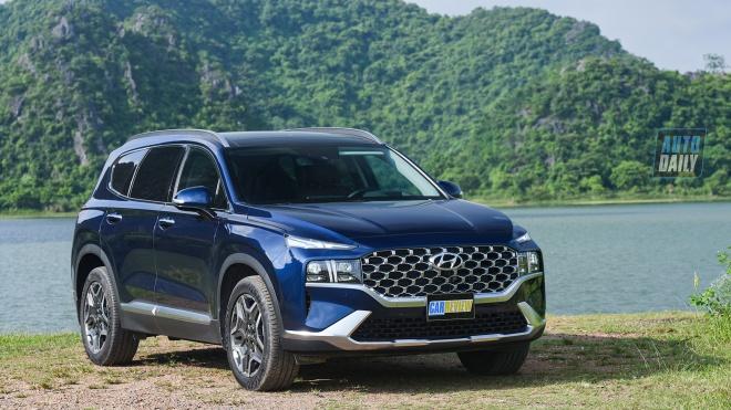 Hyundai Santa Fe 2021 - Trải nghiệm thực tế từ A-Z