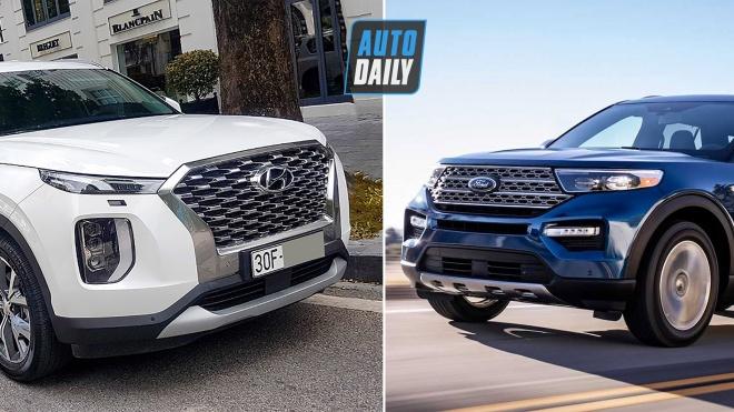 Hơn 2 tỷ, chọn Ford Explorer hay Hyundai Palisade