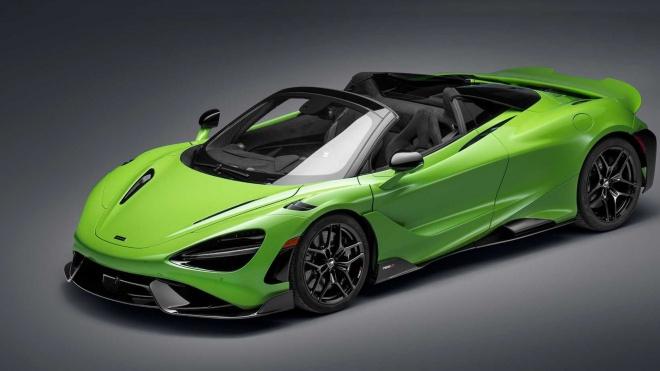 McLaren 765LT Spider ra mắt, sản xuất giới hạn 765 chiếc