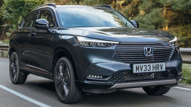 Honda HR-V e: HEV 2022 tiêu thụ nhiên liệu trung bình 5,4 L/100 km