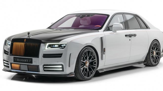 Rolls-Royce Ghost 2021 cực ngầu với gói độ của Mansory
