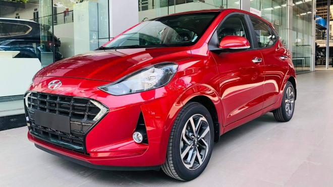 Hyundai Grand i10 2021 có mặt tại đại lý, quyết đấu VinFast Fadil