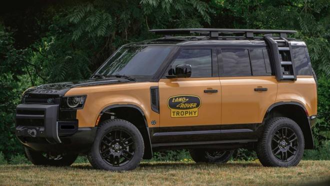 Land Rover giới thiệu Defender Trophy Edition 2022 sản xuất chỉ 220 chiếc
