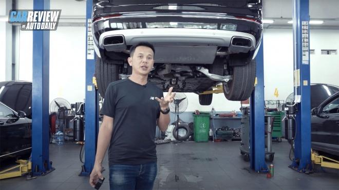 Soi gầm Volvo XC90 Excellence - Vì sao đáng tiền?
