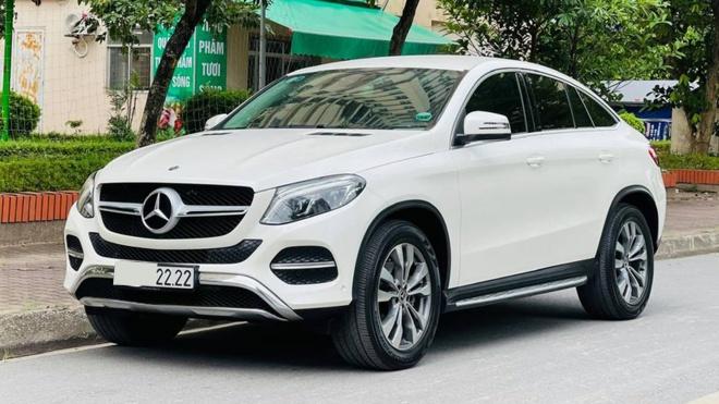 Mercedes-Benz GLE 400 Coupe biển tứ qúy 2 chào bán lại giá hơn 3,6 tỷ