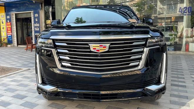 Cadillac Escalade Premium Luxury Platinum ESV 2021 đầu tiên về Việt Nam