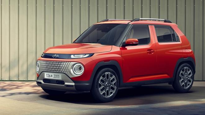 Hyundai Casper 2022 lộ diện, thiết kế lạ mắt với động cơ 1.0L