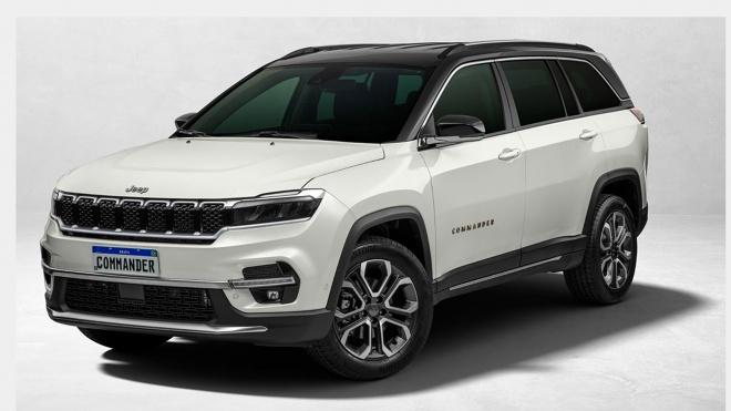 Jeep Commander 2022 ra mắt, SUV 3 hàng ghế giá từ 40.200 USD