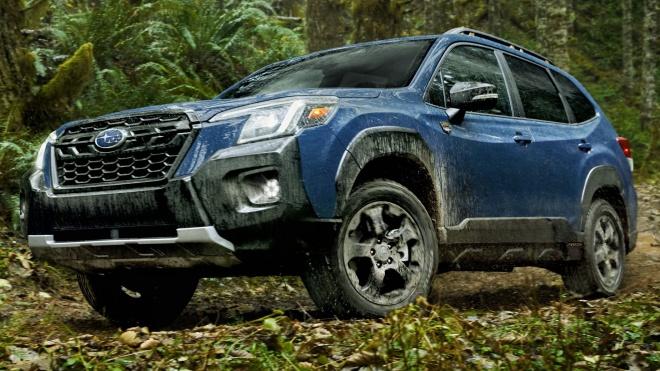 Subaru Forester 2022 ra mắt, bổ sung thêm phiên bản Wilderness mới