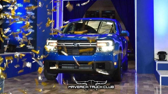 Bán tải cỡ nhỏ Ford Maverick 2022 bắt đầu được sản xuất