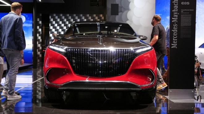 """Chiêm ngưỡng Mercedes-Maybach EQS Concept """"bằng xương, bằng thịt"""""""