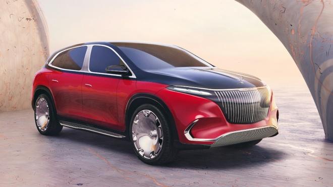 Mercedes-Maybach EQS SUV Concept - SUV siêu sang chạy điện cho tương lai