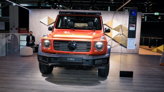 Mercedes-Benz G-Class 2022 ra mắt, bổ sung gói phụ kiện off-road mới