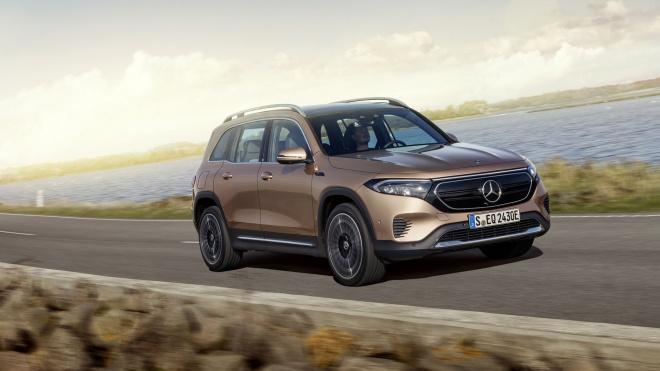 Mercedes-Benz EQB 2022 sắp mở bán, giá dự kiến từ khoảng 54.000 USD