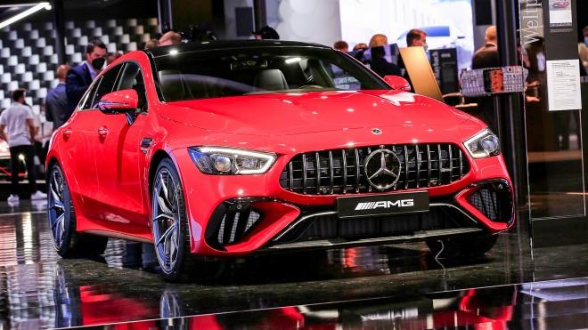 Diện kiến Mercedes-AMG GT 63 E Performance 2023 vừa ra mắt