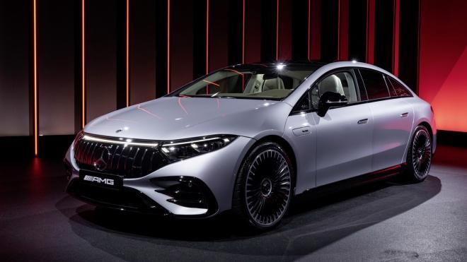 Mercedes-AMG EQS 2023 - Đỉnh cao limousine chạy điện hiệu suất cao