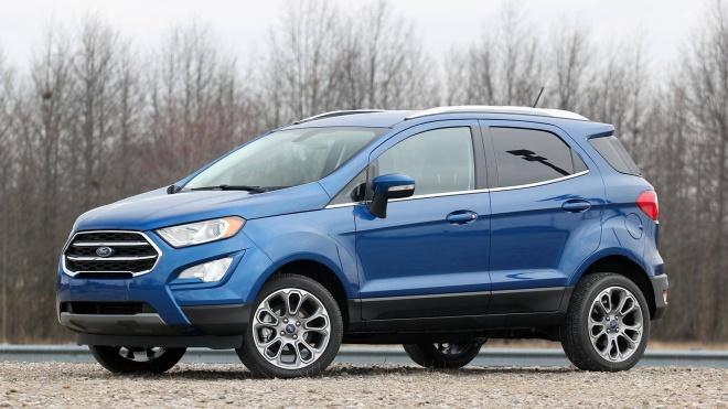 Ford khai tử EcoSport vào năm 2022
