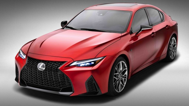 Lexus IS 500 F Sport Performance 2022 có giá khởi điểm từ 56.500 USD