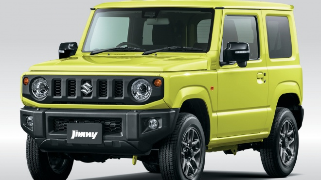 Suzuki Jimny 2021 được bổ sung một số nâng cấp, giá từ 13.513 USD