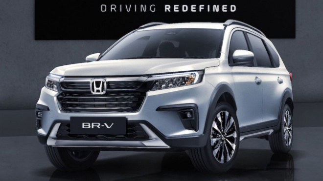 Honda BR-V 2022 ra mắt với cấu hình 7 chỗ và nhiều công nghệ hơn