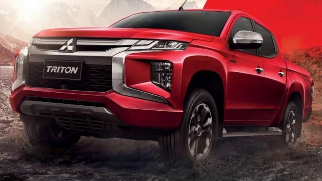 Mitsubishi Triton phiên bản đặc biệt Passion Red Edition, giá từ 26.646 USD