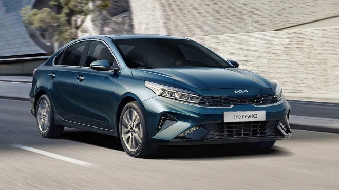 Kia K3 2021 chính thức ra mắt, giá từ 559 triệu
