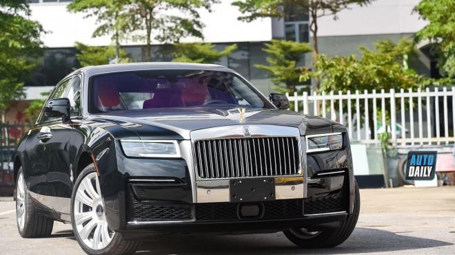 Ảnh chi tiết Rolls-Royce Ghost EWB 2021 đặt hàng cá nhân hoá