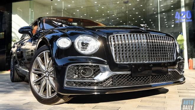 Chi tiết Sedan siêu sang Bentley Flying Spur 2021 tuỳ chọn 4 chỗ