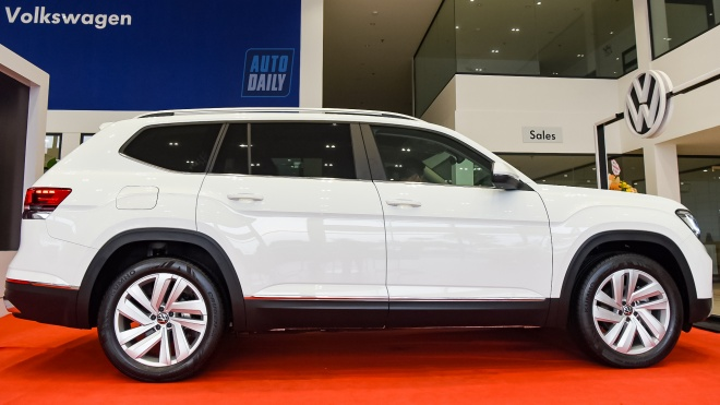 Ảnh chi tiết Volkswagen Teramont 2021 giá 2,349 tỷ tại đại lý