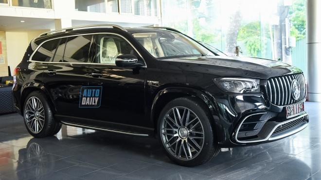 Ảnh chi tiết Mercedes-AMG GLS 63 2021 đầu tiên về Việt Nam