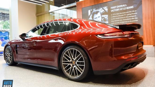 Ảnh chi tiết Porsche Panamera 2021 giá 6,7 tỷ đồng tại Việt Nam