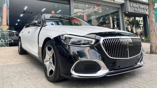 Sedan siêu sang Mercedes-Maybach S580 2021 xuất hiện tại Campuchia