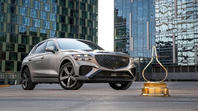 Genesis GV70 được bình chọn là SUV của năm 2022