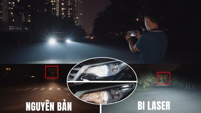 """Nâng cấp đèn """"zin"""" lên Bi Lazer Titan Platinum Plus 9+3: Đáng đồng tiền và hiệu quả thực sự bất ngờ?"""