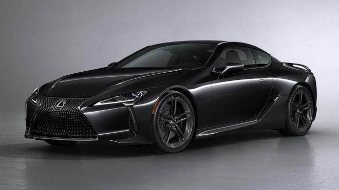 Lexus LC Black Inspiration 2021 phiên bản đặc biệt ra mắt