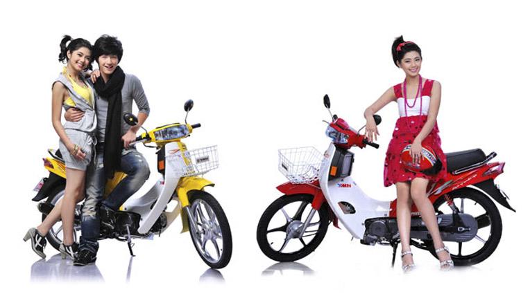 """5 xe máy 50cc giá rẻ, """"siêu"""" tiết kiệm xăng cho học sinh CUB Dai taphoa.net"""