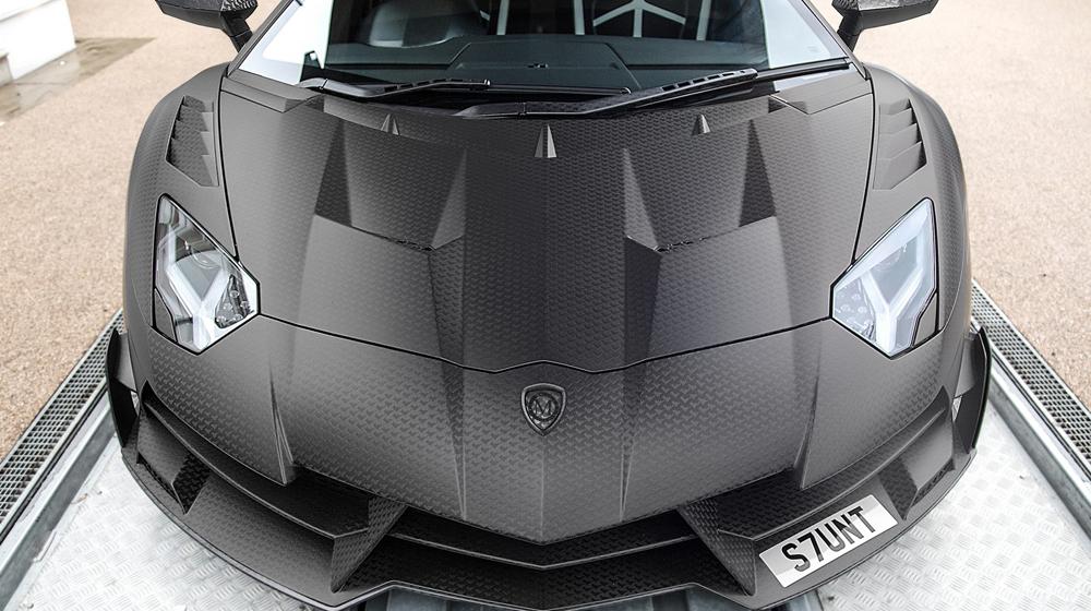Lamborghini Aventador độ Liberty Walk độc nhất Sài thành - Hình 2