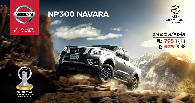 Xe bán tải Nissan NP300 Navara 2016 công bố giá bán Pickup of the year