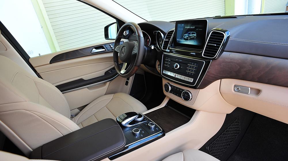 Mercedes-Benz GLS Đánh giá xe Mercedes GLS và Lexus LX570 GLS500 20 4