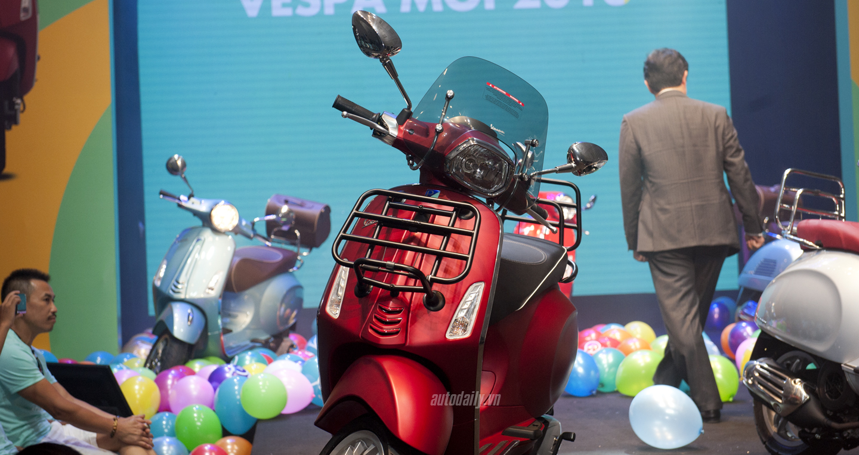 Piaggio Việt Nam ra mắt bộ ba Vespa Primavera, Vespa GTS và Vespa PX 6
