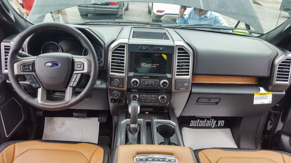 Ảnh chi tiết nội thất Ford F-150 Limited