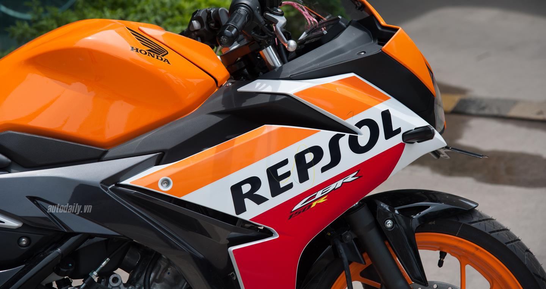 Lộ ảnh Honda CBR150R 2016 bản Repsol xuất hiện tại Hà Nội 5