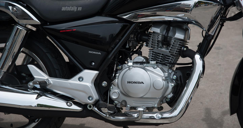 Honda Shadow 150 giá bao nhiêu? đánh giá thiết kế và vận hành xe 5