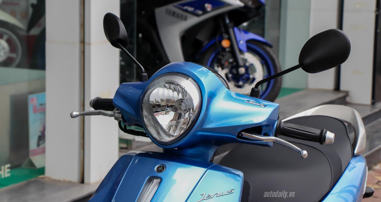 Ngắm cận cảnh Yamaha Janus 125 được bày bán tại Đại Lý 3