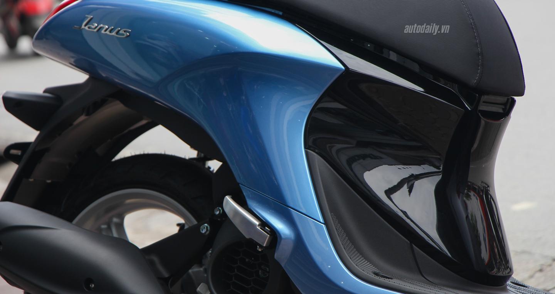 Ngắm cận cảnh Yamaha Janus 125 được bày bán tại Đại Lý 10