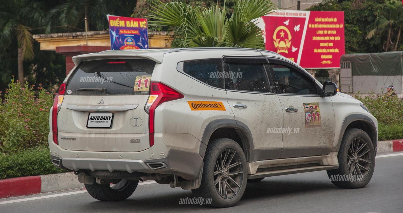 Bất ngờ bắt gặp Mitsubishi Pajero Sport 2016 trên đường phố Hà Nội 3
