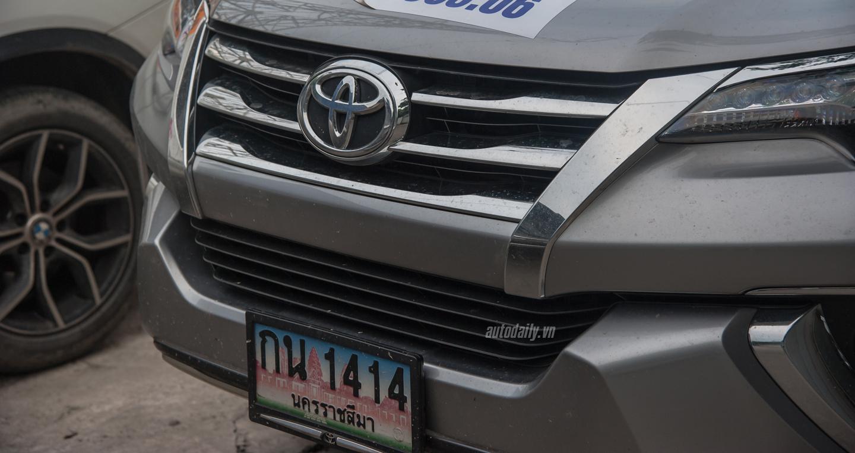 Cận cảnh Toyota Fortuner 2016 vừa xuất hiện trên đường phố Hà Nội 4