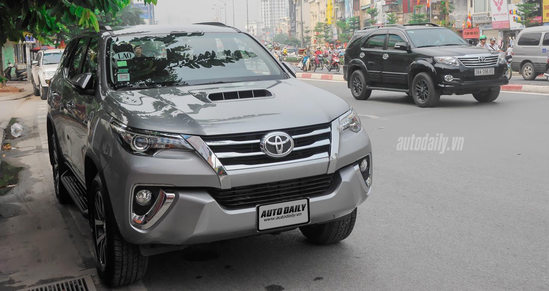 Bắt gặp Toyota Fortuner 2016 trên phố phiên bản được đưa về thị trường Việt 7